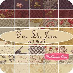 Vin du Jour Layer Cake 3 Sisteres for Moda Fabrics