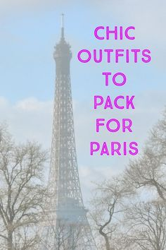 Women's packing list and tips on what to wear and pack for London and Paris in spring and early summer. The best cute and chic travel outfits!
