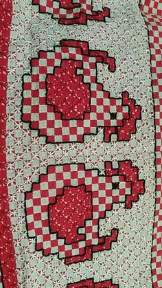 Alice's media content and analytics Needlepoint Stitches, Needlework, Crafts For Girls, Diy And Crafts, Cross Stitching, Cross Stitch Embroidery, Bordado Tipo Chicken Scratch, Chicken Scratch Embroidery, Towel Embroidery