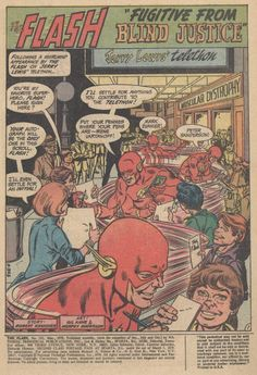Diversions of the Groovy Kind: Making a Splash: Gil Kane's Flash