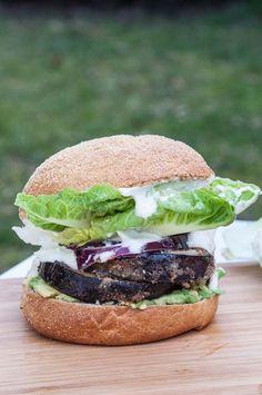 Eggplant Burger Recipes - Vegan Family Recipes