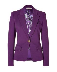 EMILIO PUCCI Blazer in Purple