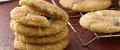 Put a fun twist on a classic snickerdoodle cookie by filling the center with gooey, soft dulce de leche.