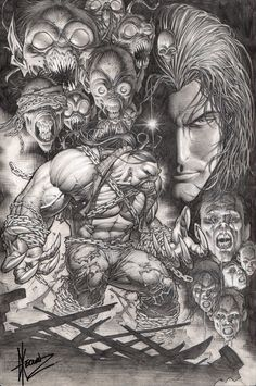Darkness / Pitt #1 Cover   Dale Keown