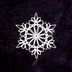 Ravelry: Triple Crochet Snowflake (archive) pattern by SAG55