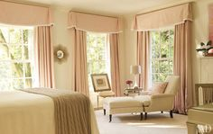 Suzanne Kasler guest room.  Could she come decorate my house already?