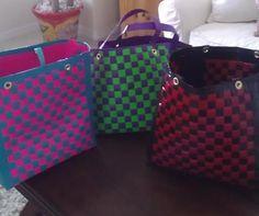 Duck Tape Beach Bags!