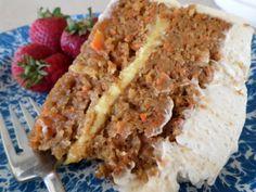 Carrot Cake #Easter #cake #carrotcake