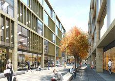 New Freer Street Masterplan, Edinburgh - Retail & Offices