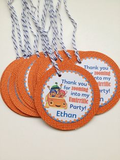 Team Umizoomi Custom Birthday Party Thank you by DivineDecorations, $8.00