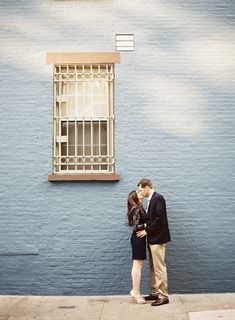 Love this shot | New York City Engagement Shoot from Judy Pak Photography Read more - http://www.stylemepretty.com/new-york-weddings/2013/08/15/new-york-city-engagement-shoot-from-judy-pak-photography/