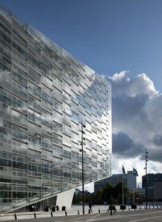 "Exercício ""Nunca Serei Assim"" - Arquitetura (The Crystal by Schmidt Hammer Lassen Architects / Copenhagen, Denmark)"