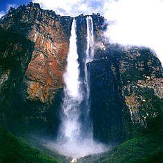 Salto Ángel (Parekupa-meru) en Estado Bolívar