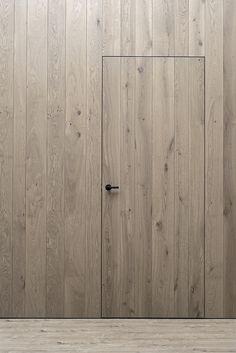 unique hidden door designs to enter a secret room in your home page 6 Door Design, Wall Design, House Design, Detail Architecture, Interior Architecture, Oak Doors, Entrance Doors, Invisible Doors, Casa Top