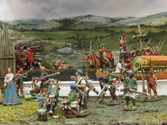 Great miniatures at the 2013 Military History Weekend.