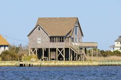 ROBERT'S POINT - 3 bedrooms, 2 baths on the Hatteras sound front