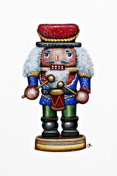 Little Drummer Boy Painting by Christina Meeusen - Little Drummer Boy Fine Art Prints and Posters for Sale