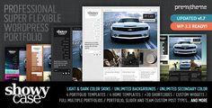 ShowyCase - Portfolio / Photography Wordpress Theme