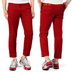 Today's Hot Pick :红色℃ 男款翻折及踝休闲裤 http://fashionstylep.com/P0000BGT/goofa/out 男款及踝裤,打造帅气的低调外形! GOOGIMS潮流设计,款式时尚大方, 裤脚翻折设计,时尚立体,个性出众。 时尚男士休闲造型,就从这里开始! -长裤 -直版 -纯色