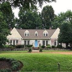 James Blue, Southern Living, Nashville, Paint Colors, Stairs, Draper James, Cottage, Windows, Doors
