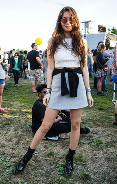 Street style from Governors Ball 2015. Photo: Antonella Alberti