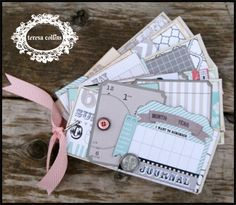 TERESA COLLINS DESIGN TEAM: Memories Calendar Tag Album with Stacy Rodriguez - 1