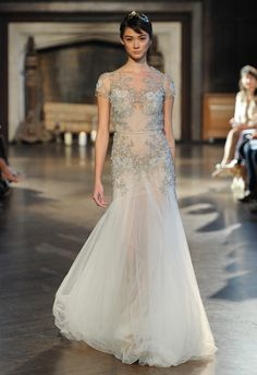 Inbal Dror Shows Regal, Romantic and Super Sexy Wedding Dresses for Fall 2015 | TheKnot.com