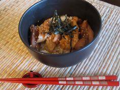 TeriyakiDon. Chicken Domburi. Great Japanese Food website.