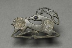 Fibula in the form of a recumbent Stag. Northern Europe C5th