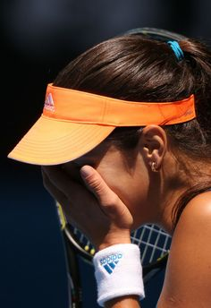Ana Ivanovic during Australian Open: Day 7 #AUSOpen #AdjeAna #Ana