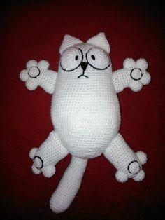 Ravelry: Simon's crochet cat pattern by Beverley Arnold