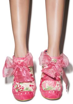 Oh my god, these are amazing- Irregular Choice Abigail's Party Bootie
