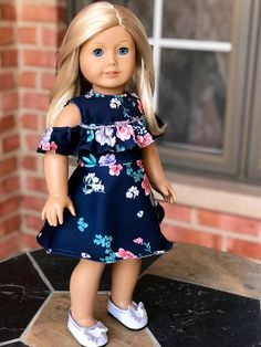 Romantic Moment Dress for 18 inch doll