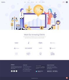 Introduce client showcase in no time with Foton WordPress theme. App Landing Page, User Interface Design, Ui Design, Cryptocurrency, Wordpress Theme, Mobile App, Software, Layout, Technology