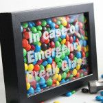 Emergency Chocolate Craft – In Case of Emergency Break Glass