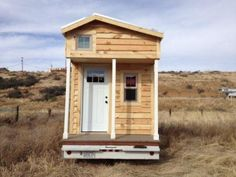 Gorgeous 24 Foot Tiny House Shell this shell could work well for me but I don't have the money right now.