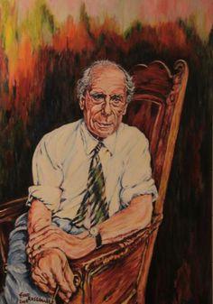 Portrait of Anton Pieck by Fred Rosenhart Kathe Kollwitz, Anton Pieck, Realistic Paintings, Dutch Painters, Dutch Artists, Portraits, Best Artist, Ex Libris, Old World