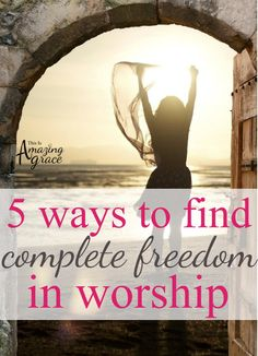 Have you ever felt pulled to worship God on a deeper level, but held back? This story is sure to help you push past the fear to find freedom in worship.