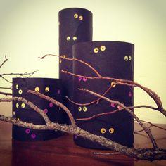DIY Spooky Eyes Luminary Jars