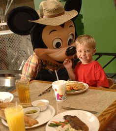 Jantando com o Mickey #WaltDisneyWorld