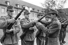 M1 Garand, Personal Defense, Portraits, Central Europe, Troops, World War, Army, Gi Joe, Military