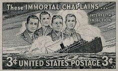 The Four Chaplains - Lt.s George Fox, Alexander Goode, John Washington, and Clark Poling were chaplains of varying faiths stationed aboard troop transport ship The Dorchester. When the ship was struck by a submarine's torpedo, they quickly rallied together and began handing out life jackets, & directing people to safety.  When the life jackets ran out, they selflessly gave away their own. When the ship went down, the 4 men linked arms and began singing. Hard to say how many lives the were…