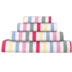 i really want striped towels for the bathroom