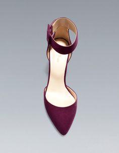 BASIC VAMP AND HEEL - Shoes - Woman - ZARA United States