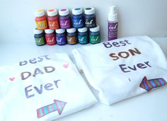 t-shirt painting father's day