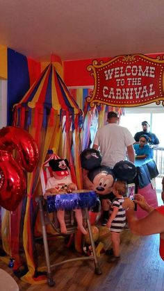 Austin's Mickey Mouse Clubhouse Carnival!! | CatchMyParty.com