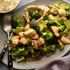 Chicken and Broccoli Stir-fry By Food Network Kitchen