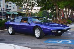 Lamborghini Urraco at Caffeine & Exotics in Atlanta