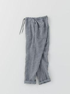 arts & science - uncle sarrouel:  linen drawstring pants