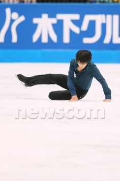 Takahiko Kozuka (JPN), OCTOBER 4, 2014 - Figure Skating : Japan Open 2014 at Saitama Super Arena, Saitama, Japan. (Photo by Yohei Osada/AFLO SPORT) (341×512)